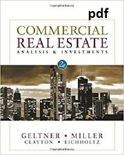 Commercial Real Estate Analysis and Investments 🔥instant Delivery 📥