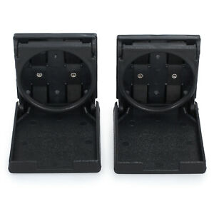 2PCS Folding Cup Holders For Home Camping Car Truck Boat ATV SUV VAN