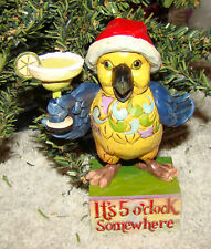 Party in Paradise (Margaritaville by Jim Shore, 4059123) Parrot with Margarita