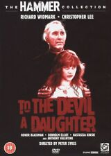 HAMMER HORROR DVD – TO THE DEVIL A DAUGHTER – CHRISTOPHER LEE