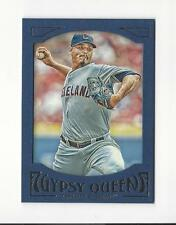 2016 Topps Gypsy Queen Framed Blue #97 Carlos Carrasco Indians