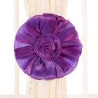 Paire Boucle Crochet Fleur Embrasse Pour Décoration Rideaux Fenêtre Chambre Mode