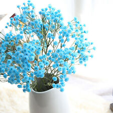 Artificial Silk Fake Flowers Baby's Breath Floral Wedding Bouquet Party Decor
