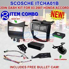 SCOSCHE ITCHA01B DASH INSTALLATION MOUNTING KIT FOR 2003-2007 HONDA ACCORD NEW!