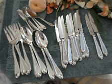Oneida 18/10 Stainles China SATIN GARNET Odd Lot Knives Serving Lot Excellent