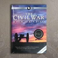 The Civil War A Film Directed By Ken Burns (DVD, 6-Disc Set) Brand New US seller
