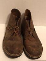 Clarks Mens Original Desert Boot Size 9M Brown Chukka Lace Up