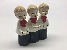 Vintage Artmark Japan Ceramic Christmas Choir Altar Boys Carolers