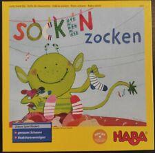 HABA Socken zocken - Lernspiel für Kinder ab 4 Jahren - neuwertig