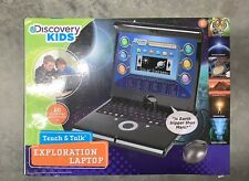 Discovery Kids Teach & Talk Exploration Laptop Charcoal Gray
