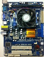ASRock N68-S3 UCC Socket LGA AM3 Motherboard with 3GHZ CPU And DDR3 Chip