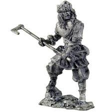 *Viking, 9-10 centuries* Tin toy soldiers miniature statue. metal sculpture