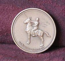 2001 Thailand King Naresuan on Horse Medal Amulet Somdej Sanphet Buddha BE 2544