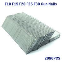 F30 Tacwise 2080pcs galvanisé Finition Lisse Clous agrafes Pistolet Outil à main