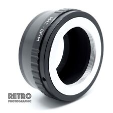 M42 Screw Lens to Canon EOS EF Mount Adapter Ring