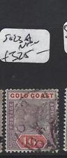 GOLD COAST (PP1804B) QV  10/-  SG 23A   VFU
