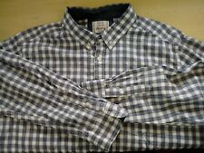 Mens George Long Sleeve Check Shirt Size XL