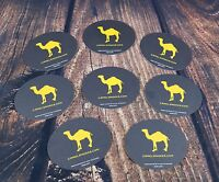 Lot of 8 Camel Cigarettes Collectible Beer Drink Coasters Smoke Tobacco NEW