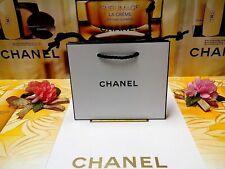 ☾1 PCS☽CHANEL Mini-Size☾L:14 x W:5 x H:12 cm☽White Paper Gift Bag NEW ♡28%OUT♡