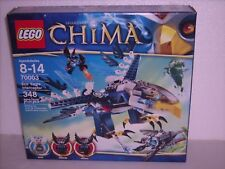 Lego 70003 Legends of Chima Eris' Eagle Interceptor Nib 348 Pieces
