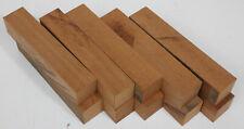 10 carrelet bois acajou tournage couteaux stylo maquette lutherie mahogany wood