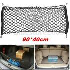 Car Trunk Rear Cargo Organizer Storage Elastic Mesh Net Holder 4 Hooks 90x40cm