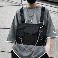 Chest Bag Men Hip Hop Harness Chest Rig Bag Vest Streewear Women Tactical Bags