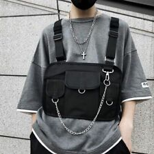 Chest Bag Men Hip Hop Harness Chest Rig Bag Vest Streewear Women Tactical Bags
