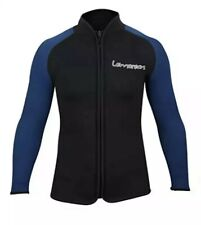 Lemorecn Adult 3mm Wetsuit Jacket Long Sleeve Neoprene Wetsuits Top Size Small