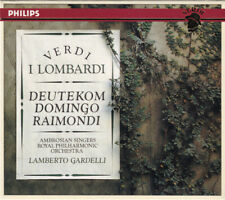 Verdi/Lamberto Gardelli, Placido Domingo, Cristina Deutekom, Ruggero  I Lombardi