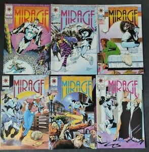 SECOND LIFE OF DOCTOR MIRAGE #1-18 (1993) VALIANT COMICS NEAR FULL COMPLETE SET!