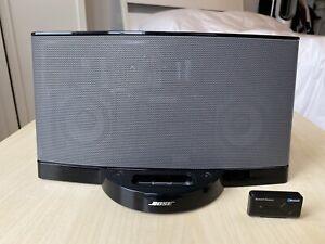 ✨ Bose SoundDock Series II 2 Speaker (30 Pin) Black + Wireless Bluetooth Adapter