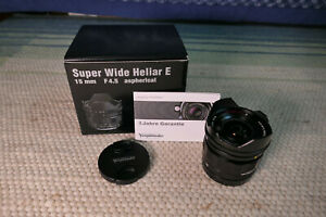 Voigtländer Super Wide Heliar III 15mm F4.5 ASPH. VM für Sony E-Mount