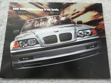 1999 BMW 3, 5, 7 Series and M Cars Sales Brochure