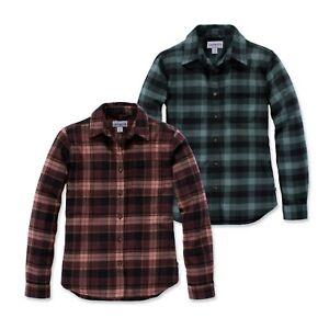Carhartt 103226 Hamilton Flannel Shirt   Damen Flanell Hemd   Limited