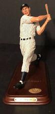 Joe DiMaggio New York Yankees Danbury Mint Replica Statue Figure Figurine
