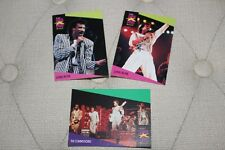 Lionel Richie / Commodores - 3 collector cards - 1991 ProSet Superstar Musicards