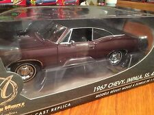 Ertl Authentics 1/18 1967 Chevy Impala SS 427 Item 39298