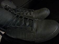 Supra 001 Muska - Black/Red Leather - Size 13
