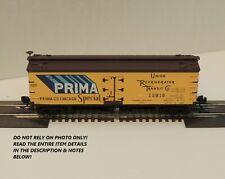 """N SCALE: 40' WOOD REEFER CAR - ATLAS #41520 - """"PRIMA""""  #12818"""