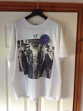 U2 Concert Tour T Shirt ZOOROPA 1993 European Dates On Back Of Shirt Size XL