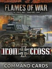 FW247C IRON CROSS COMMAND CARDS - FLAMES OF WAR - WW2 - NOW