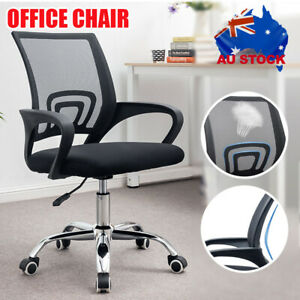 Gaming Computer Chairs Office Chair Mesh Back Executive Seating Study Seat