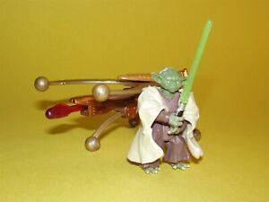 Star Wars ROTS Yoda Firing Cannon Loose