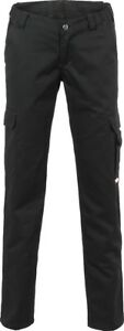 Planam Damen Arbeitshose EASY Outdoor Bundhose schwarz Gr. 34-54