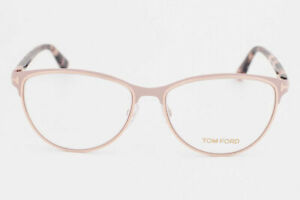TOM FORD TF5420 074 MATTE PINK ROSE HAVANA OPTICAL FRAME 52-16-135 MADE IN ITALY
