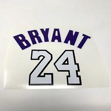 Kobe Bryant 24 Vinyl StickerDecal La Lakers Nba Basketball Sports Sticker