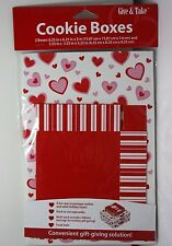 Valentine's Day Hearts Holiday Party Favor Toy Cookie Gift Treat Boxes