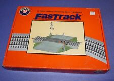 LIONEL FASTRACK GRADE CROSSING WITH FLASHERS NO. 6-12052  STILL IN BOX