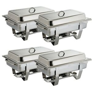 Chafing Dish, Buffet, Bain Marie, Chafer, Gastronorm Stainless Steel HEAVY DUTY